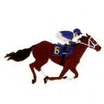 Horse Racing.Racing Horse.(CD022006TC).(2.45x4).10758