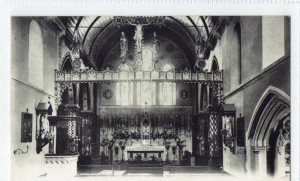 St Mary of the Angels Interior Sometime After 1902