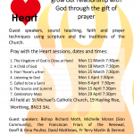 Pray with the Heart Poster