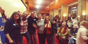 The Kingdon of Heaven is Close at Hand - Lovely atmosphere and excitement builds - Elaine, Wojtek, Stuart, Karen and Michelle