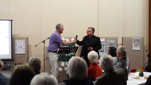 Session #6, the handing of the baton between Dermot Casey and Fr Terry Martin